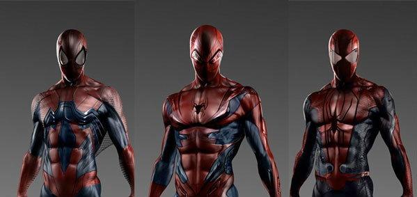 ชุด Spider-Man ที่ไม่ได้ใช้ใน The Amazing Spider-Man 2