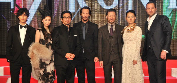 คีอานู รีฟท์ เปิดตัว 47 Ronin World Premiere หนังใหญ่ส่งท้ายปี!