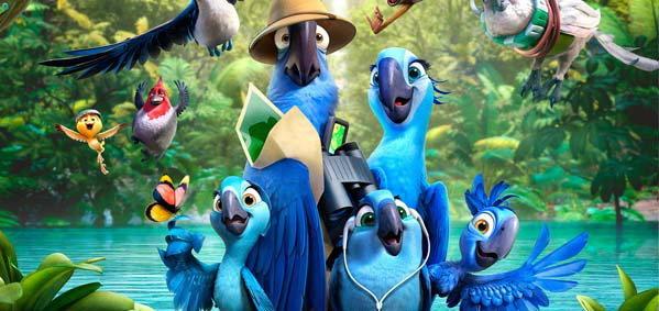 มาฟังเสียงน่ารักๆ จากเจ้านกสีฟ้า Rio 2