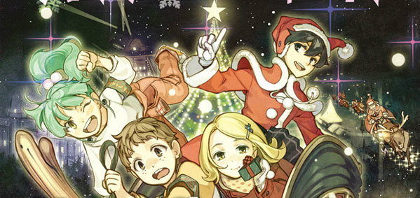 Santa Company การ์ตูนอนิเมชั่นแนวสดใสต้อนรับคริสต์มาส