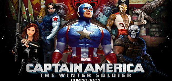 มาแล้ว 4 โปสเตอร์ใหม่ Captain America: The Winter Soldier!!