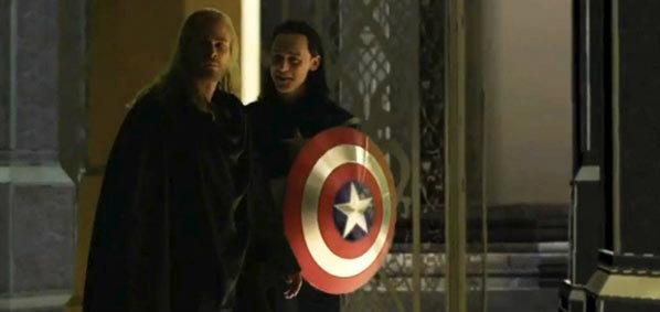มาได้ไง! Loki โผล่แปลงร่างเป็นกัปตันอเมริกาใน Thor : The Dark World