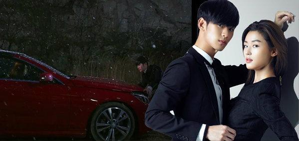 รถเข้าฉากหน้าผา You Who Came From the Stars ราคา 80 ล้านวอน ชนจริงไม่ใช้ CG