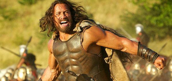 โฉมแรก! เดอะร็อค อวดผมสยายรับบทนำใน Hercules