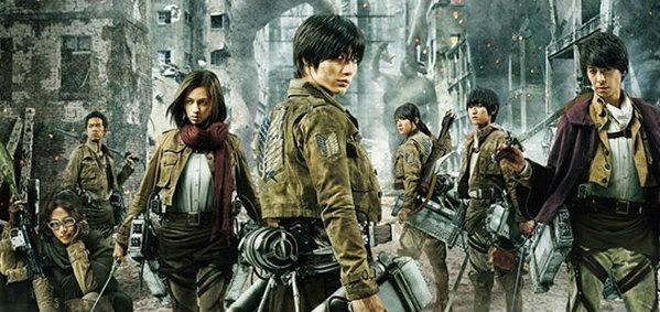 หนัง Attack on Titan เปิดตัวแรง กวาดไป 600 ล้านเยน