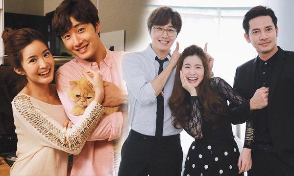 """ส่องพระเอกเกาหลี """"จองอิลอู"""" ในกองถ่ายละครไทย Love and Lies กลรักเกมมายา"""