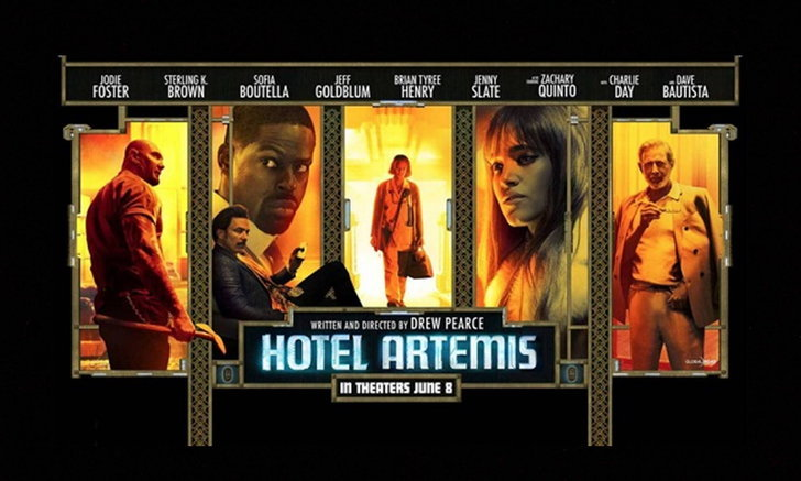 HOTEL ARTEMIS หนังอาชญากรรมที่งานองค์ประกอบศิลป์โดดเด้ง
