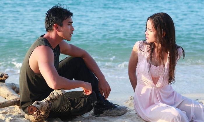 """ตีกันตั้งแต่เริ่ม """"ลิขิตรัก"""" ตอนแรก """"ณเดชน์"""" ปะทะเดือด """"ญาญ่า"""" ริมหาด"""