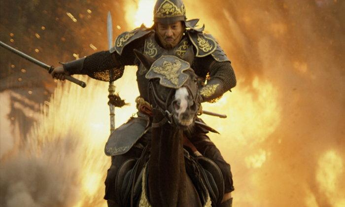 """""""เป้-ทวีฤทธิ์"""" เจ็บหนัก! ควบม้าข้ามแม่น้ำสะโตง """"ตำนานสมเด็จพระนเรศวรมหาราช เดอะซีรีส์ 2"""""""