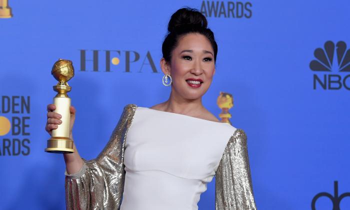 """""""Sandra Oh"""" นักแสดงหญิงเอเชียที่คว้า """"นำหญิง"""" ลูกโลกทองคำ ในรอบเกือบ 40 ปี!"""