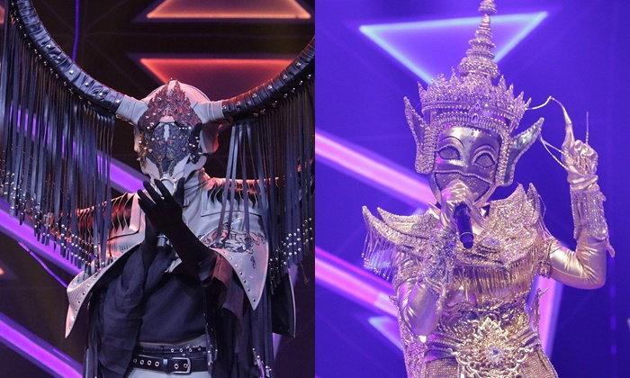 หน้ากากมโนราห์ คว้าแชมป์กรุ๊ปไม้โท เปิดหน้ากากควายไทย The Mask Line Thai
