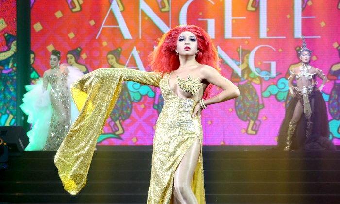 """""""แองเจเล่ อานัง"""" คว้าตำแหน่ง Thailand's Drag Superstar คนที่สองของเอเชีย!"""