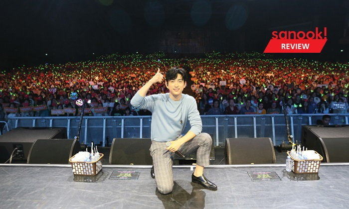 """""""จินยอง GOT7"""" กับแฟนมีตฯเดี่ยวครั้งแรกในไทย ที่ไกลแค่ไหนก็คือใกล้ ถ้าใช้ใจสัมผัส"""