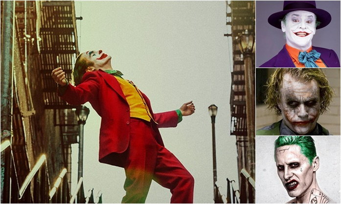 หลายความแตกต่างระหว่างคอมิกส์และหนัง Joker