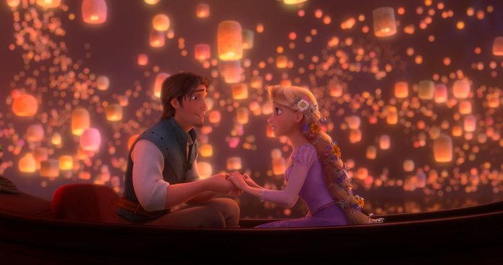 ภาพจากหนัง Tangled หรือ Rapunzel นั่นเอง