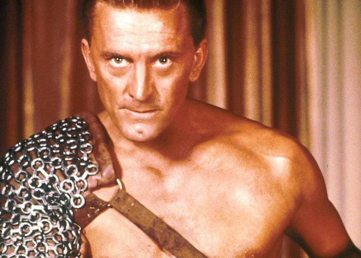 เคิร์ก ดักลาส ใน Spartacus