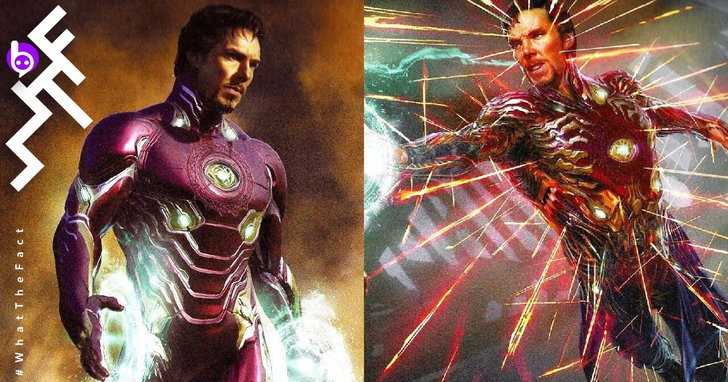 Doctor Strange เคยใส่ชุด Iron Man ชนิดถ่ายทำเสร็จแล้ว แต่น่าเสียดายถูกตัดออกไปก่อน