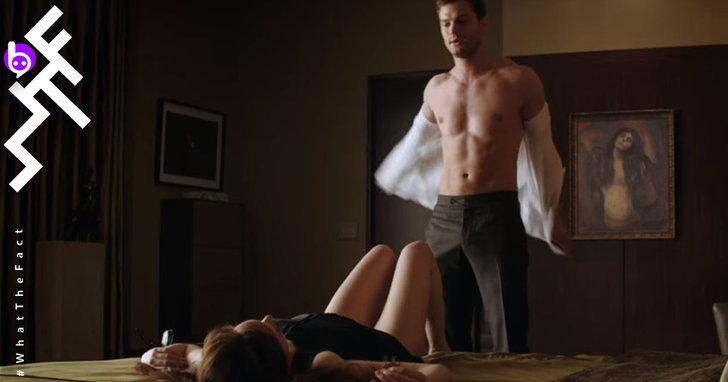 """เบื้องหลังฉากเซ็กซ์ใน Fifty Shades และหนังอีโรติกดังต้องมี """"อารมณ์..."""" จริงๆ หรือไม่?"""