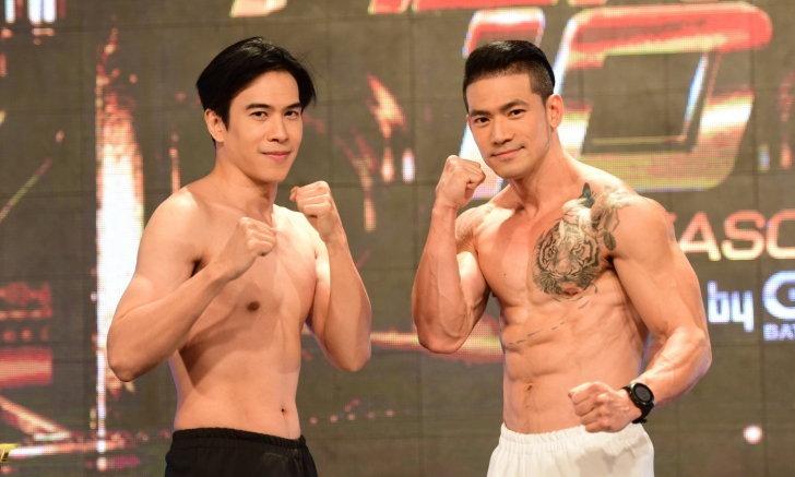 "10 Fight 10 ซีซั่น 2 ชั่งน้ำหนักคู่ 6 ""เต้ vs บอล"" พร้อมเดือด! พิกัดไม่เกิน 72.60 kg."