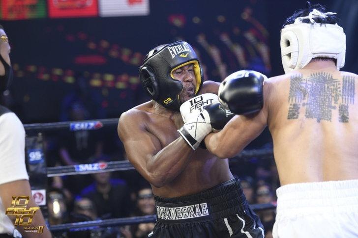 ปิดสังเวียน 10 Fight 10 ซีซั่น2 ชกดุเดือด รัศมีแขโชว์พลังชกเอ็กซ์ คว้าชัยชนะ
