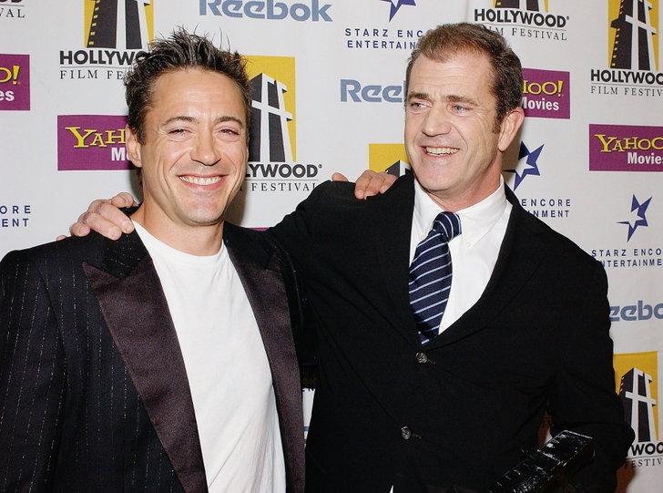 Robert Downey Jr. - Mel Gibson