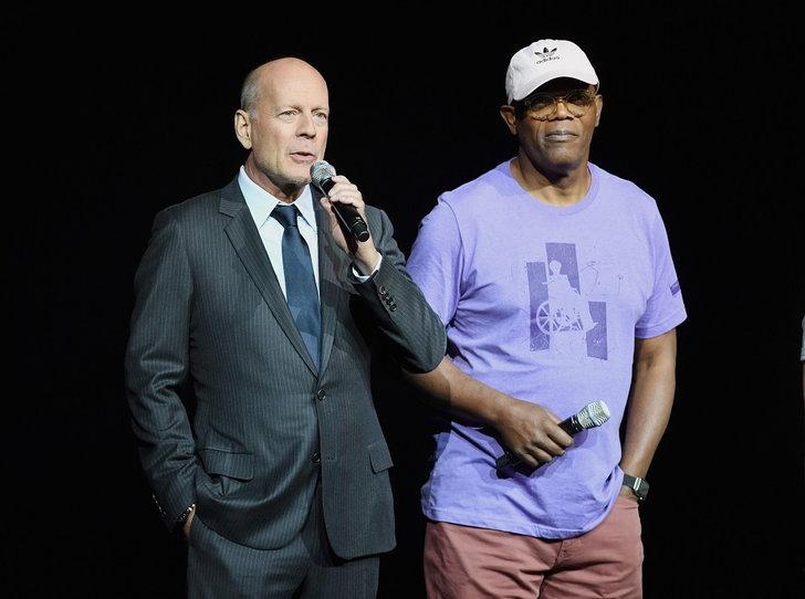 Bruce Willis - Samuel L. Jackson