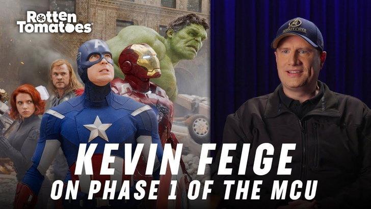 เควิน ไฟกี ตอนที่ให้สัมภาษณ์กับ Rotten Tomatoes