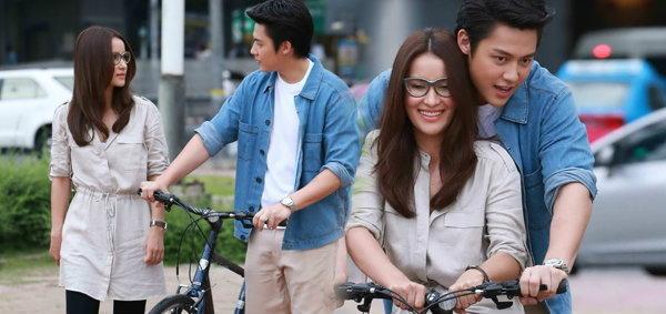 หมาก-แอน ขอเป็นแฟนกัน ขี่จักรยานสวีทหวาน แอบรักออนไลน์