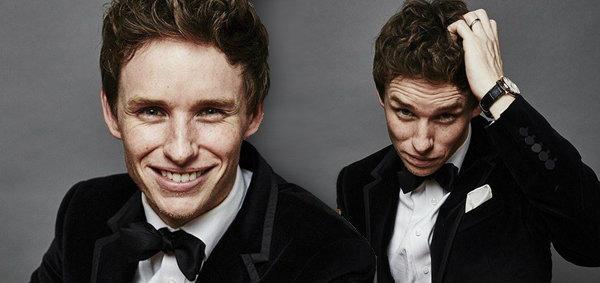 """""""เอ็ดดี้ เรดเมย์น"""" นักแสดงหนุ่มอังกฤษ หน้ากระ ที่สมควรได้ออสการ์ปี 2015"""
