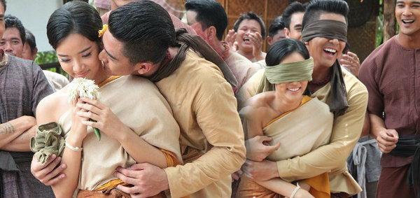เต้ย-วาววา เข้าฉากแต่งงาน 'บางระจัน' รำลึกประเพณีไทย