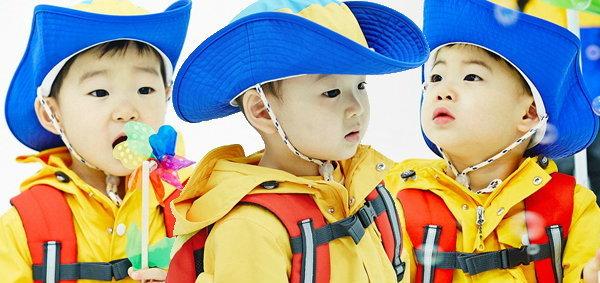 หล่อได้พ่อ! แฝดสาม แทฮัน, มินกุก, มันเซ ถ่ายแบบแบรนด์ Skarbarn