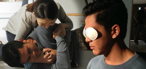 เต้ย พงศกร ปิดตา 12 ชั่วโมง เวิร์คช้อปอินบทผู้สูญเสียดวงตาใน สี่เส้า