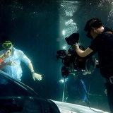 คลื่นชีวิต ฉากใต้น้ำ
