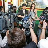 เชร็ค 3 จัดปาร์ตี้สีเขียว เปิดตัวหนังพร้อมทีมพากย์