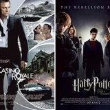 """""""แฮรี่ พอตเตอร์""""เฉือน""""บอนด์"""" เป็นตัวละครทำเงินสูงสุดตลอดกาล"""