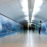 2012 กับการตลาดสุดเจ๋งใน สาถนีรถไฟใต้ดิน บราซิล