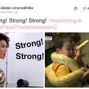 the face thailand strong!