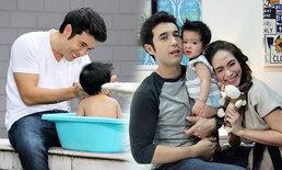 """น่ารักมาก! ภาพครอบครัวสุขสันต์ แอนดริว-พลอย ปิดฉาก """"สายลับรักป่วน"""""""