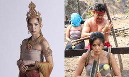 """""""นุสบา"""" เล่านาทีเข้าฉากตัดหัว """"ใบเตย"""" ใน """"ซิ่นลายหงส์"""" เสียงดนตรีไทยแทรกระหว่างถ่ายทำ"""