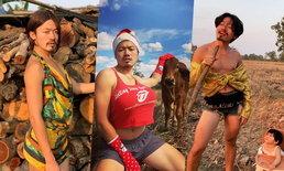 """""""พีทพานามา"""" ดาว TikTok ละครไทยแห่งท้องทุ่ง อินเนอร์จัดเต็ม เล่นเองทุกบทบาท"""