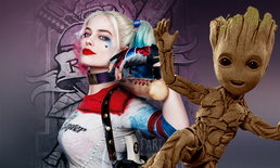 """""""เจมส์ กันน์"""" มีแผนจะสร้างหนัง Harley Quinn meets Groot"""
