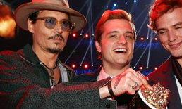 Hunger Games เจ๋งคว้ารางวัลเด่นบนเวที MTV Movie Awards