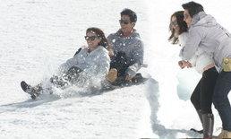 ติ๊ก-แอน-ก้อง-ริต้า ลุยหิมะที่ทิตลิส สวิสเซอร์แลนด์ ใน อย่าลืมฉัน