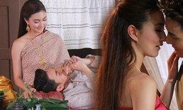 """แพนเค้ก-ธันวา สวมชุดไทยสุดสง่างาม ในละคร """"แหวนสวาท"""""""