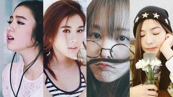 10 ดาราสาวหน้าใหม่ แต่หน้าใสไม่แพ้เกาหลี