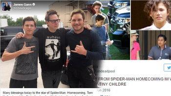 รูปหลุดจากกองถ่าย Spider-Man: Homecoming