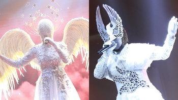 ถอดหน้ากาก นางฟ้า-นกพิราบ เซอร์ไพรส์กรรมการจากเกาหลี The Mask Singer 4
