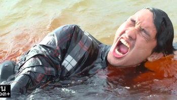 """ลานประหารชายทะเล ฉากฆ่า 7 ทรชน คนที่สาม ใน """"ล่า"""" ตายแบบเบาๆ"""