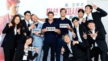 """เล่นใหญ่มาก! """"ทอม ครูซ"""" โผล่ร่วม """"รันนิ่งแมน"""" รายการชื่อดังของเกาหลี"""