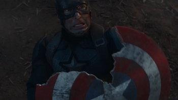 โล่หรือหางจิ้งจก ผู้ชมตาดีพบโล่ของ Captain America ฟื้นฟูตัวเองได้